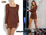 In Miley Cyrus' Closet - Bess Sioux Leather Dress