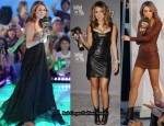 Miley Cyrus' Wardrobe Changes At The 2010 MuchMusic Video Awards