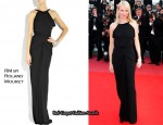 In Naomi Watts' Closet - RM by Roland Mouret Open-Back Jersey Maxi Dress