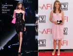 38th AFI Life Achievement Award Honoring Mike Nichols - Natalie Portman In Christian Dior