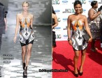 2010 BET Awards - Nia Long In Gucci