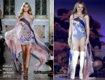 'Germany's Next Topmodel Final' - Kylie Minogue In Emilio Pucci