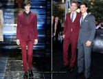 Twilight Saga: Eclipse LA Premiere - Robert Pattinson & Taylor Lautner In Gucci