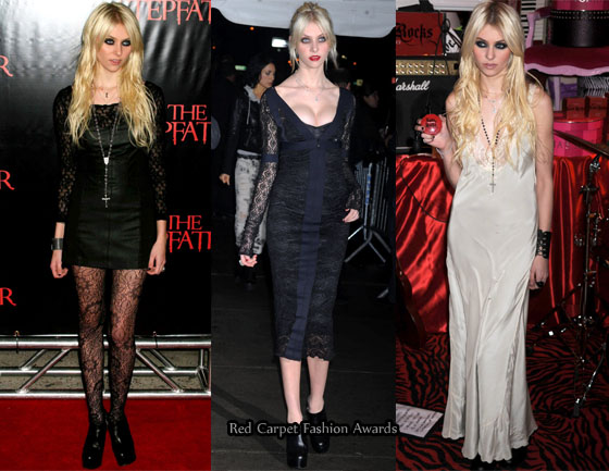Taylor Momsen's Red Carpet Transformation - Red Carpet ...