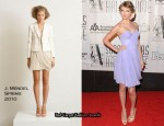41st Annual Songwriters Hall of Fame Ceremony - Taylor Swift In J.Mendel