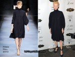 """I Am Love"" New York Premiere - Tilda Swinton In Fendi"