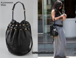 In Vanessa Hudgens' Closet - Alexander Wang Diego Bucket Bag