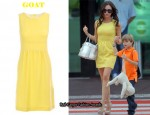 In Victoria Beckham's Closet - Goat Sleeveless Yellow Dress