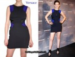 In Kristen Stewart's Closet - Versace Mini Dress