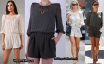 In Alex Curran & Danielle Lineker's Closet - Twenty8Twelve Chiffon Shoulder Pad Playsuit