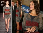 Electronic Entertainment Expo - Zoe Saldana In Isabel Marant