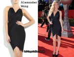 In Marisa Miller's Closet - Alexander Wang Draped Dress