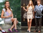 On The Gossip Girl Set With Katie Cassidy In Yigal Azrouël