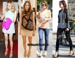 Celebrities Love...Christian Louboutin Macarena Chain Link Wedges