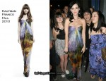 Runway To SkyRock - Katy Perry In Kaufman Franco