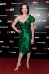 """Mad Men"" Season 4 Premiere - Elisabeth Moss In Oscar de la Renta"