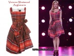 In Cat Deeley's Closet - Vivienne Westwood Anglomania Check Dress