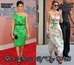 Best Dressed Of The Week - Freida Pinto & Drew Barrymore