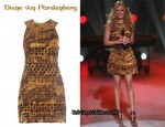 In Cat Deeley's Closet - Diane von Furstenberg Asuka Shift Dress