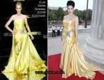 2010 Life Ball - Dita von Teese In Elie Saab Couture
