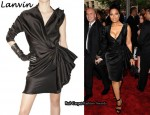 In Janet Jackson's Closet - Lanvin One-Sleeved Dress