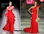 Valentino Garavani Archives Dinner Party - Jessica Alba In Valentino