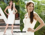 """Salt"" Mexico Photocall - Angelina Jolie In Atelier Versace"