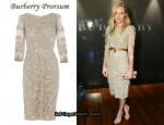 In Kate Bosworth's Closet - Burberry Prorsum Lace Dress