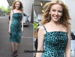 Kylie Minogue On GMTV Wearing Dolce & Gabbana