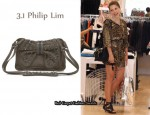 In Sophia Bush's Closet - 3.1 Phillip Lim Edie Studded Bow-Detailed Bag