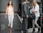Runway To Sidewalk - Kate Moss In Isabel Marant