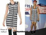 In Rihanna's Closet - House of Holland Elastic Dress