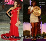 Best Dressed Of The Week - Jessica Alba In Valentino & Serena Williams In Burberry