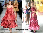 Runway To Sidewalk - Sarah Jessica Parker In Stella McCartney