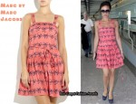 In Victoria Beckham's Closet - Marc by Marc Jacobs Bow-Print Dress