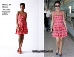 Heathrow Airport - Victoria Beckham In Marc by Marc Jacobs
