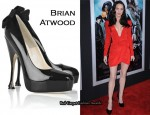 In Megan Fox's Closet - Brian Atwood 'Donna' Patent Pumps