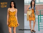 In Jessica Szohr's Closet - Nanette Lepore Ikat Dress