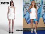 In Cat Deeley's Closet - Preen Asymmetrical Dress