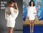 In Selena Gomez Closet - BCBG Max Azria Drape Dress