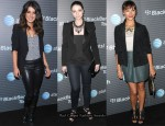 BlackBerry Torch Launch Party Trend - Black Blazers