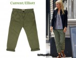 In Gwyneth Paltrow's Closet - Current/Elliott 'The Captain' Cropped Pants