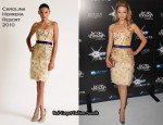 Breakthrough Of The Year Awards - Dianna Agron In Carolina Herrera