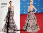 2010 Emmy Awards - Dianna Agron In Carolina Herrera