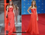 2010 Emmy Awards - Jenna Fischer In Versace