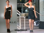 In Rihanna's Closet - A.L.C. Wrap Dress