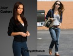 In Rachel Bilson's Closet - Juicy Couture Chiffon Back Cardigan