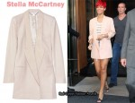 In Rihanna's Closet - Stella McCartney Cashmere Oversized Blazer