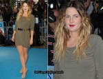 """Going The Distance"" London Premiere - Drew Barrymore In McQ Alexander McQueen"