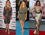 Late Night with David Letterman – Drew Barrymore In Richard Chai & Camilla and Marc